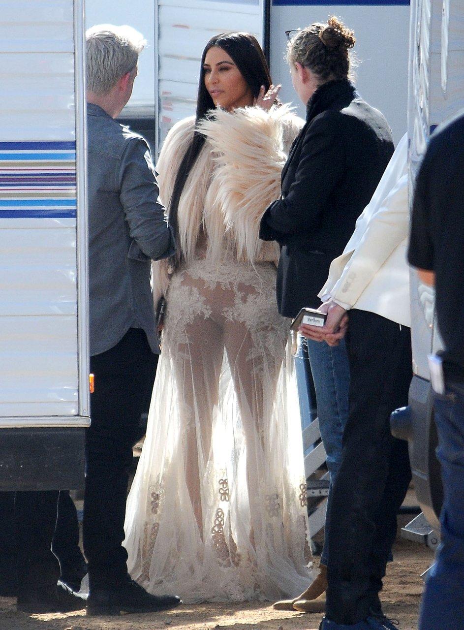Kim Kardashian See Through 79 Photos Thefappening