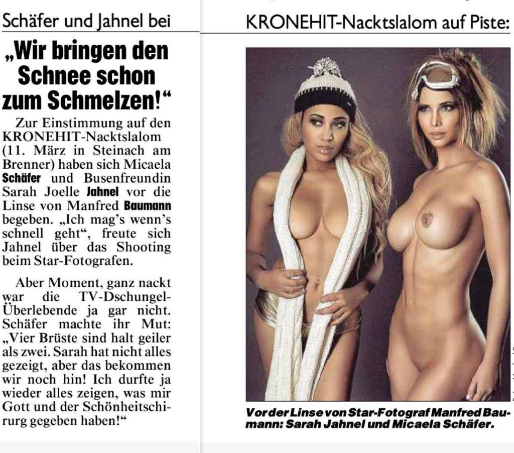Micaela Schäfer Nude (11 Photos + Video)