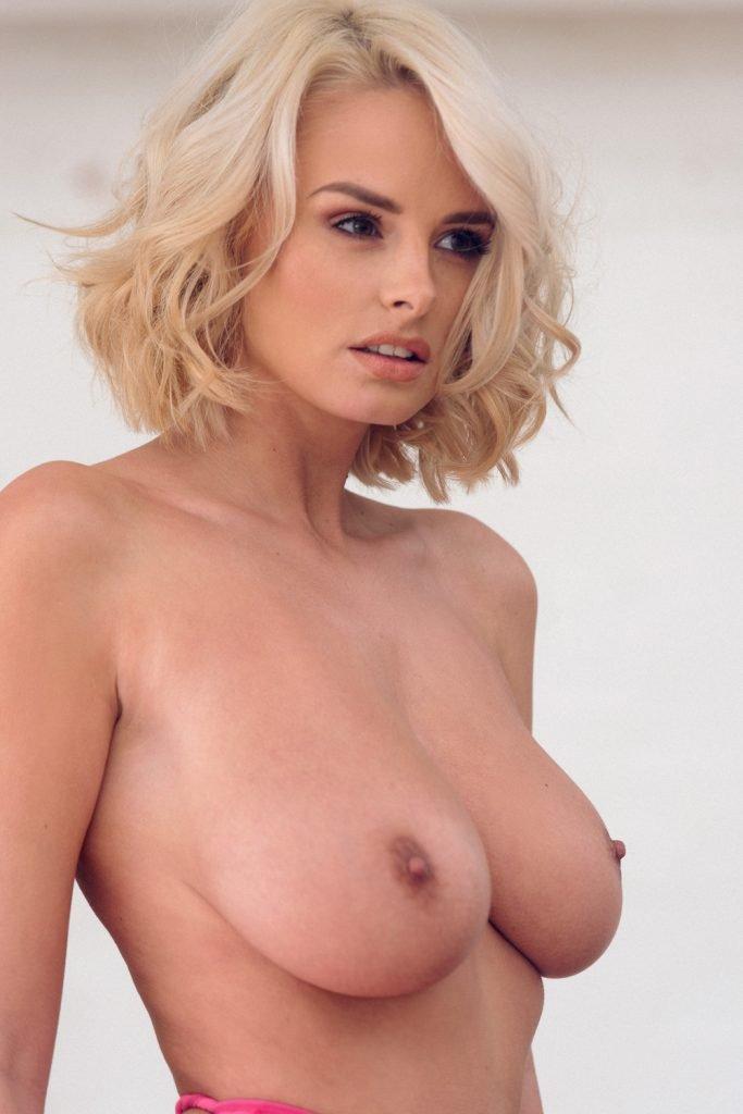 Rhian Sugden See Through and Topless (5 Photos)