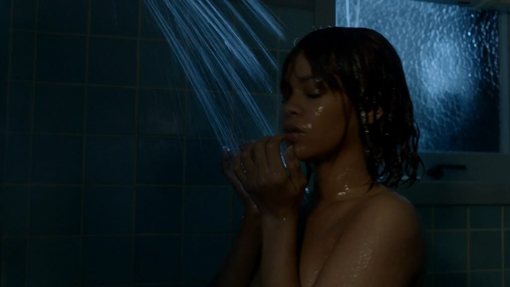 Rihanna nude out the shower