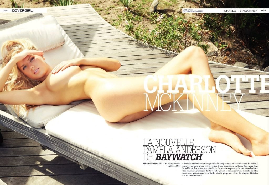 Charlotte McKinney Nude & Sexy (9 Photos)