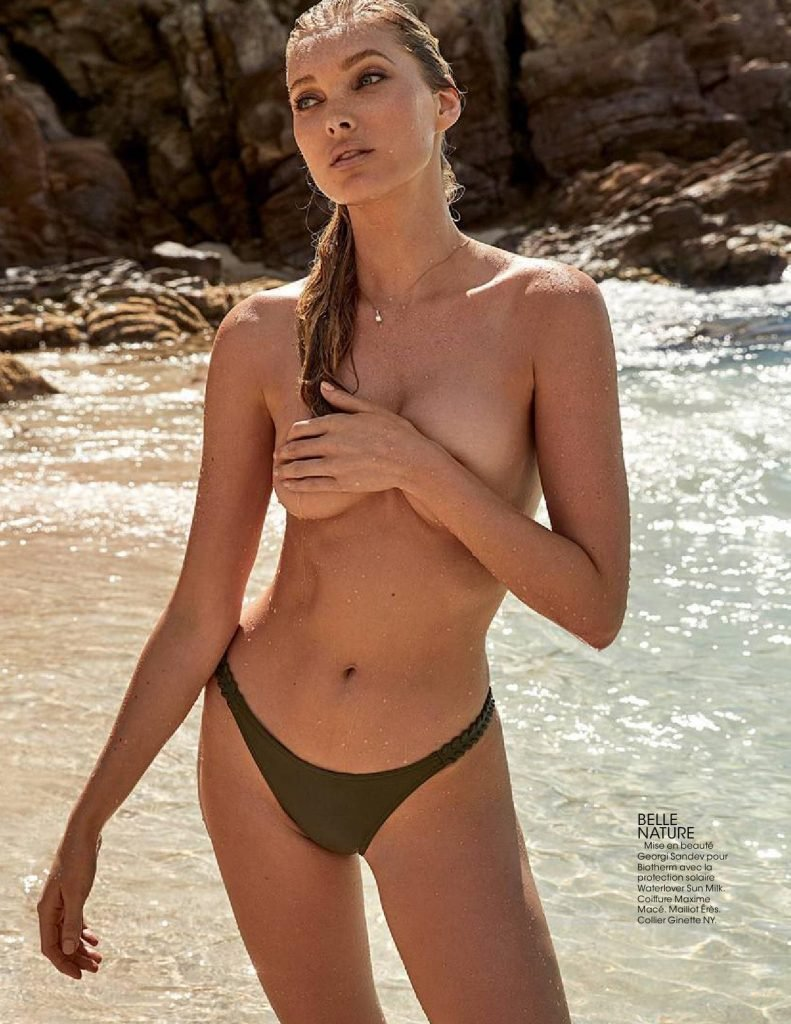Elsa Hosk Sexy & Topless (15 Photos)