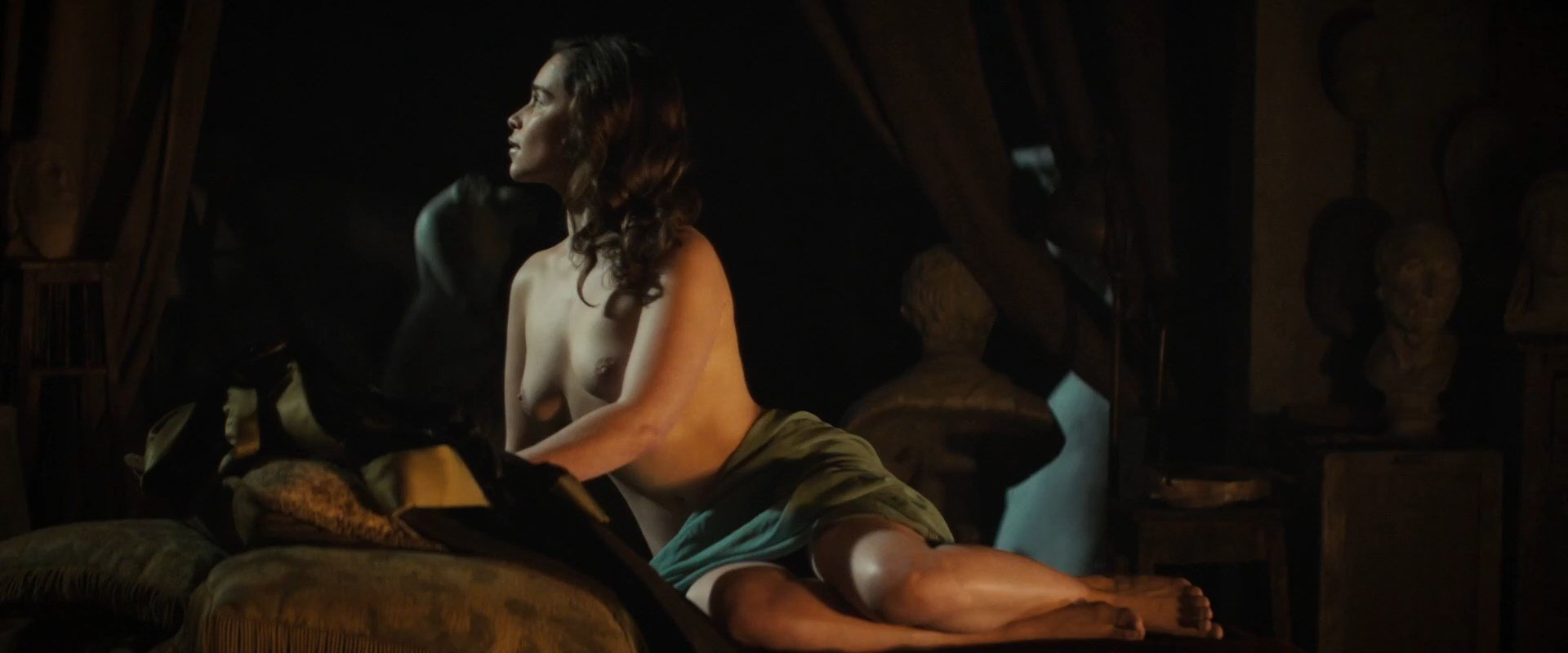 image Emilia clarke nude voice from the stone 2017