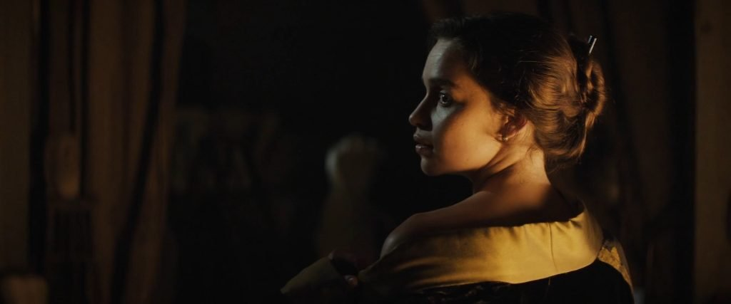 Emilia Clarke Nude – Voice from the Stone (2017) 1080p