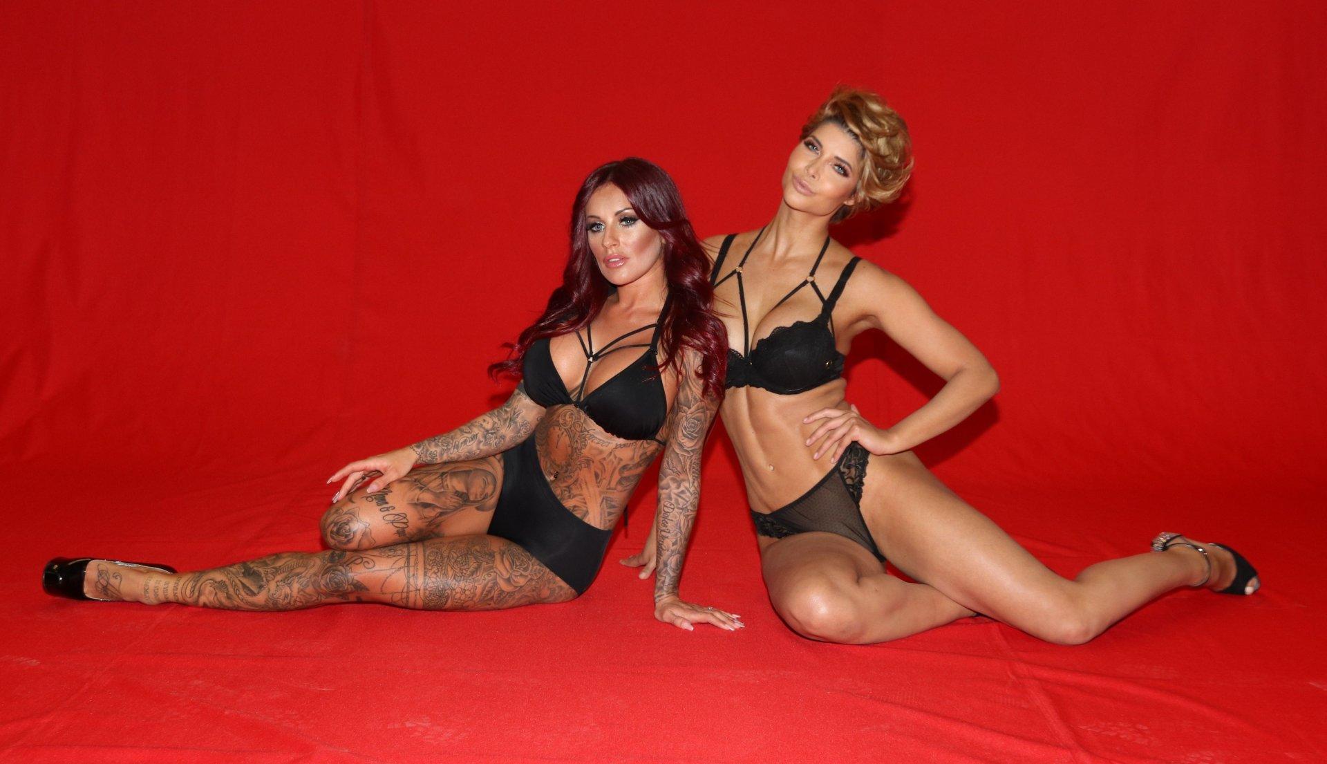 Julia Jasmin Ruehle & Micaela Schaefer Sexy & Topless (36