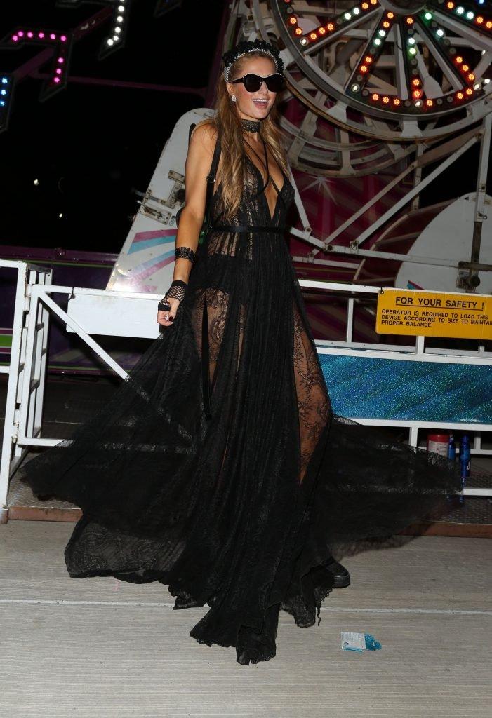 Paris Hilton See Through (11 Photos)