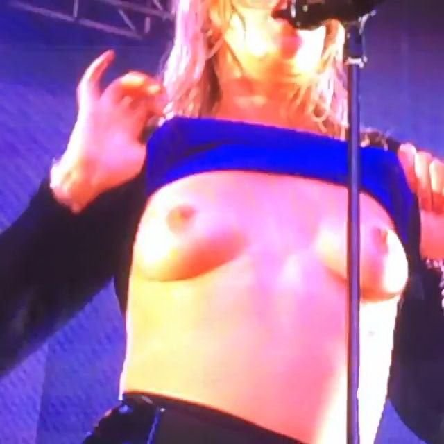 Tove Lo See Through & Topless (14 Photos + Videos)