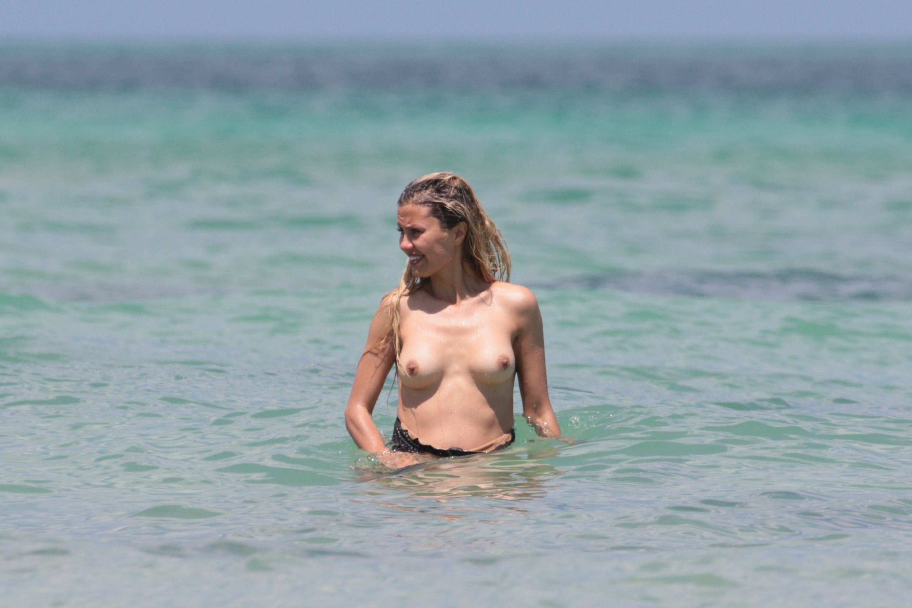 Topless on the beach 1