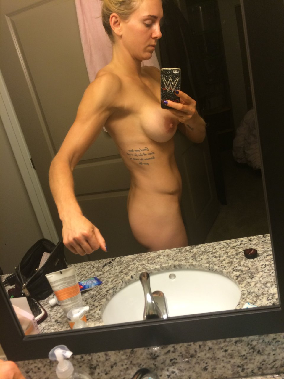 Charlotte leaked images wwe