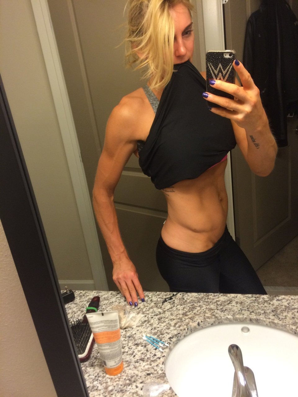 Charlotte Flair (WWE) Leaked (17 Photos) | #TheFappening