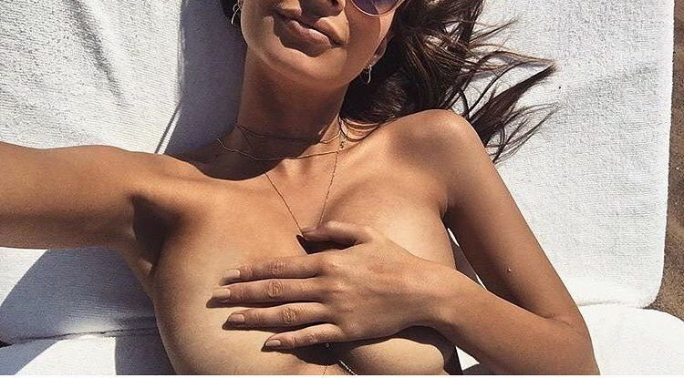 Emily Ratajkowski Naked (2 New Photos)