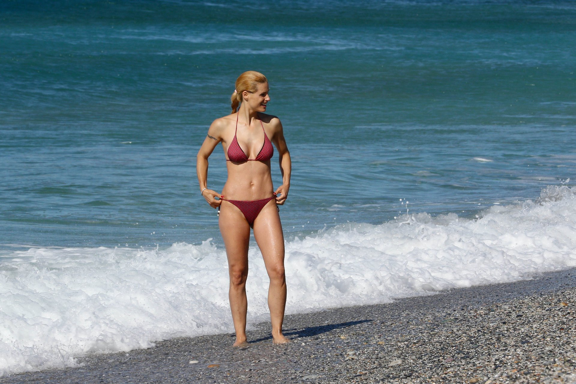 Michelle Hunziker Sexy