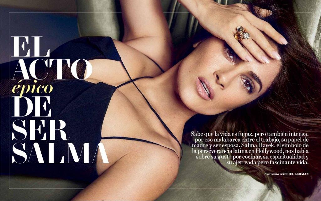 Salma Hayek Sexy (5 Photos)