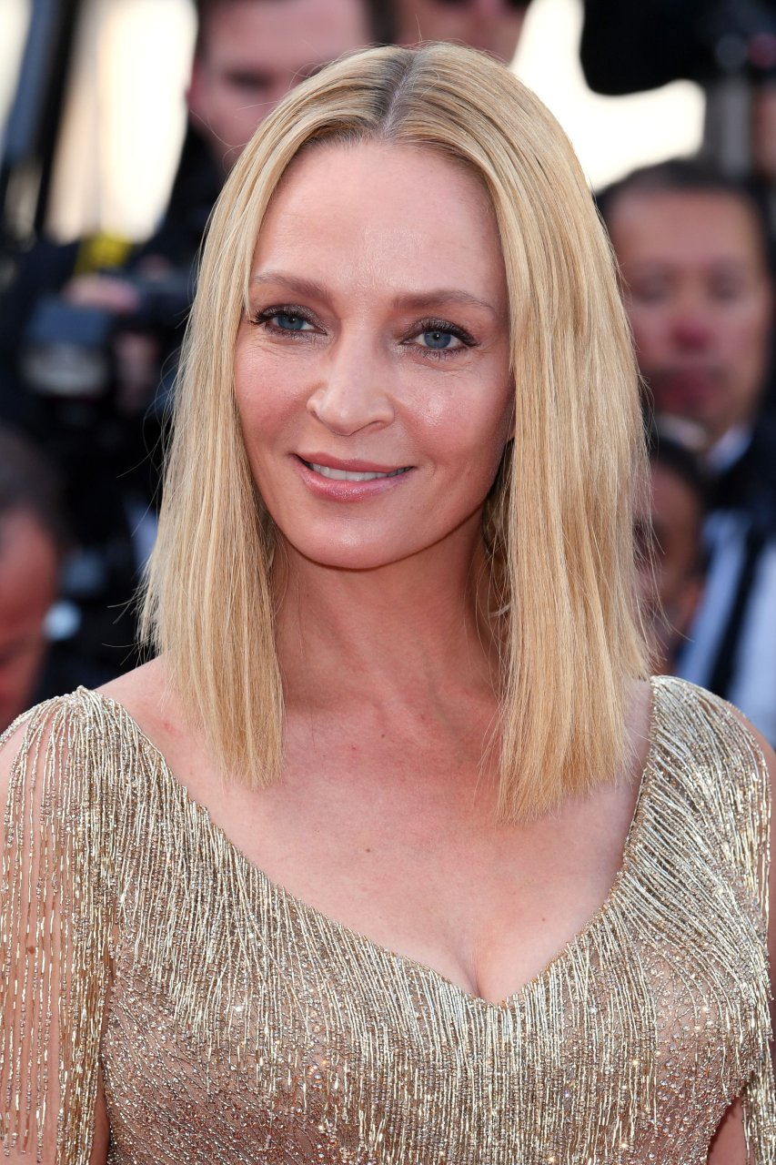 Through uma nude see thurman