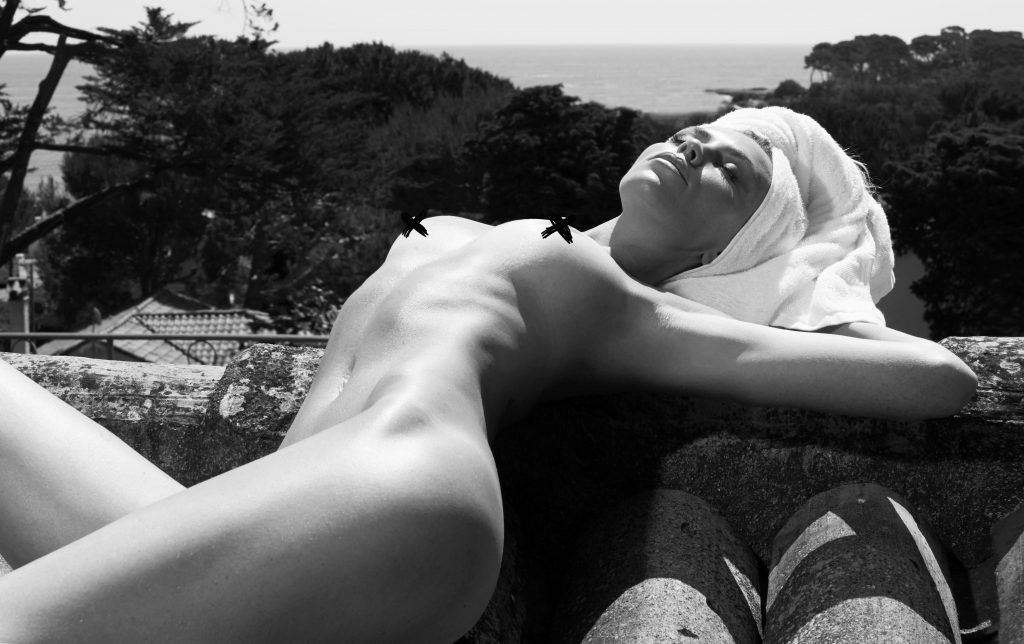 Abbey Clancy Topless (4 Photos)