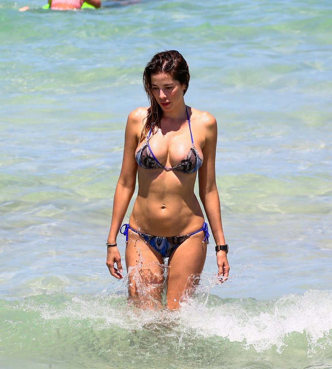 Bikinis on the beach pics