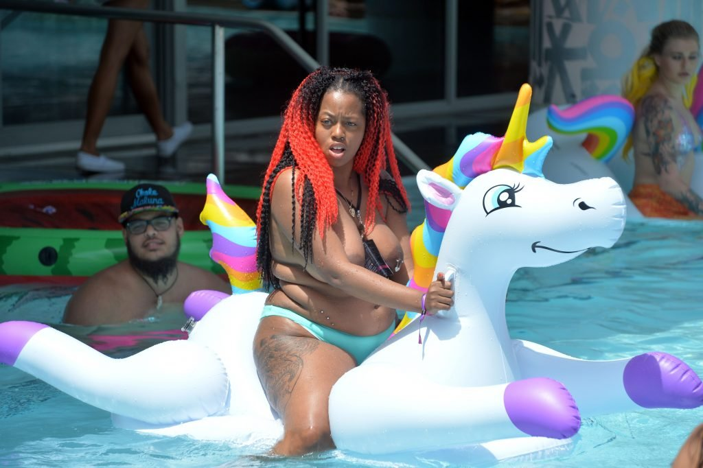 4th Annual CamCon Topless Pool Party (55 Photos)
