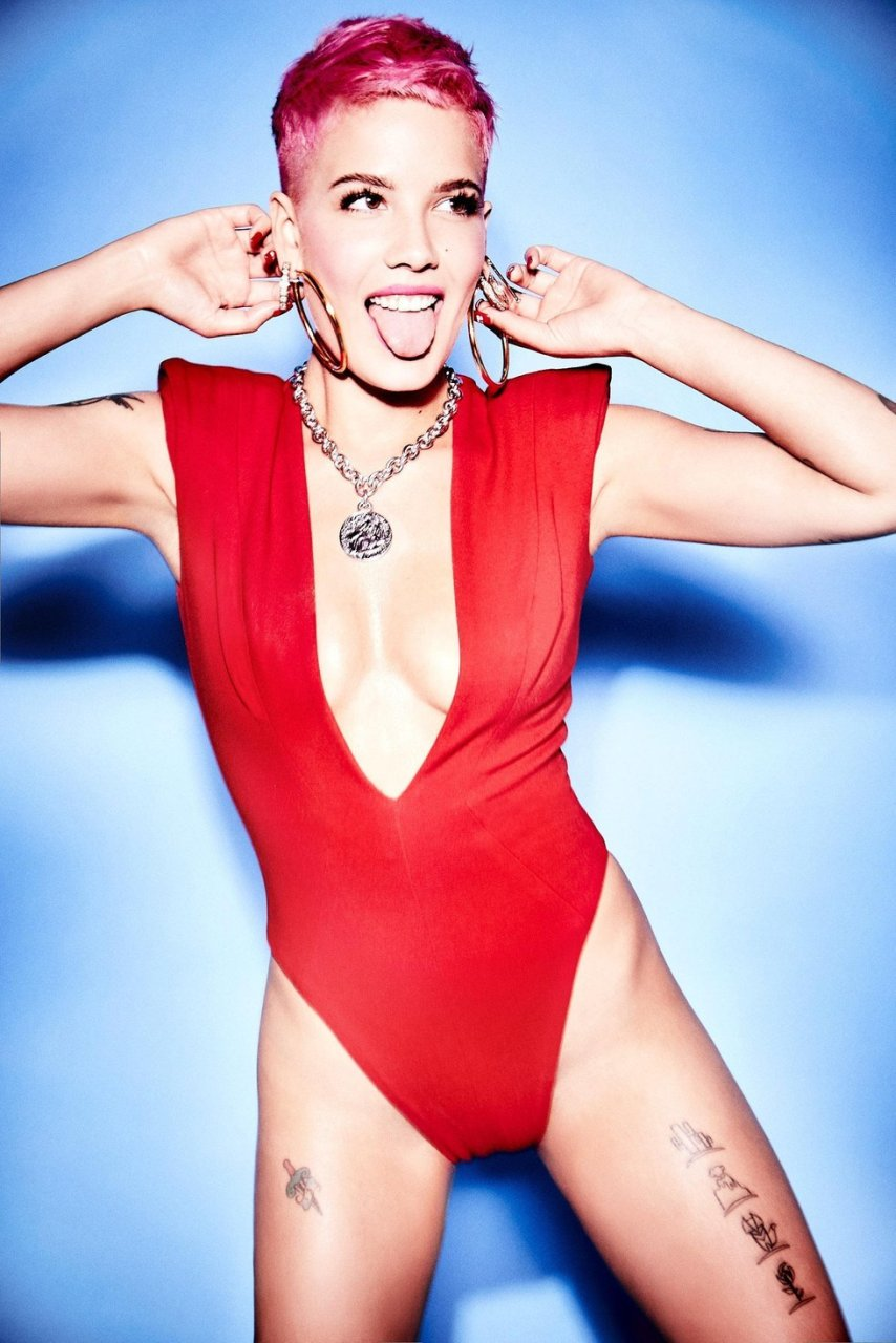 Halsey Sexy (13 Photos) | #TheFappening