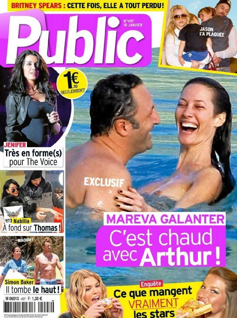 Mareva Galanter Sexy & Topless (5 Photos)