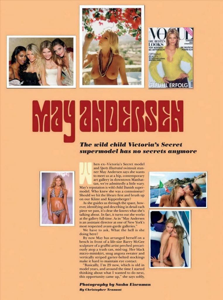 Andersen Lykke  nackt May Enna Le