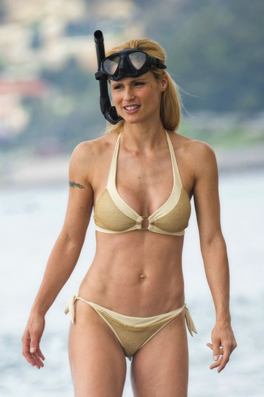 Pity, that michelle hunziker bikini
