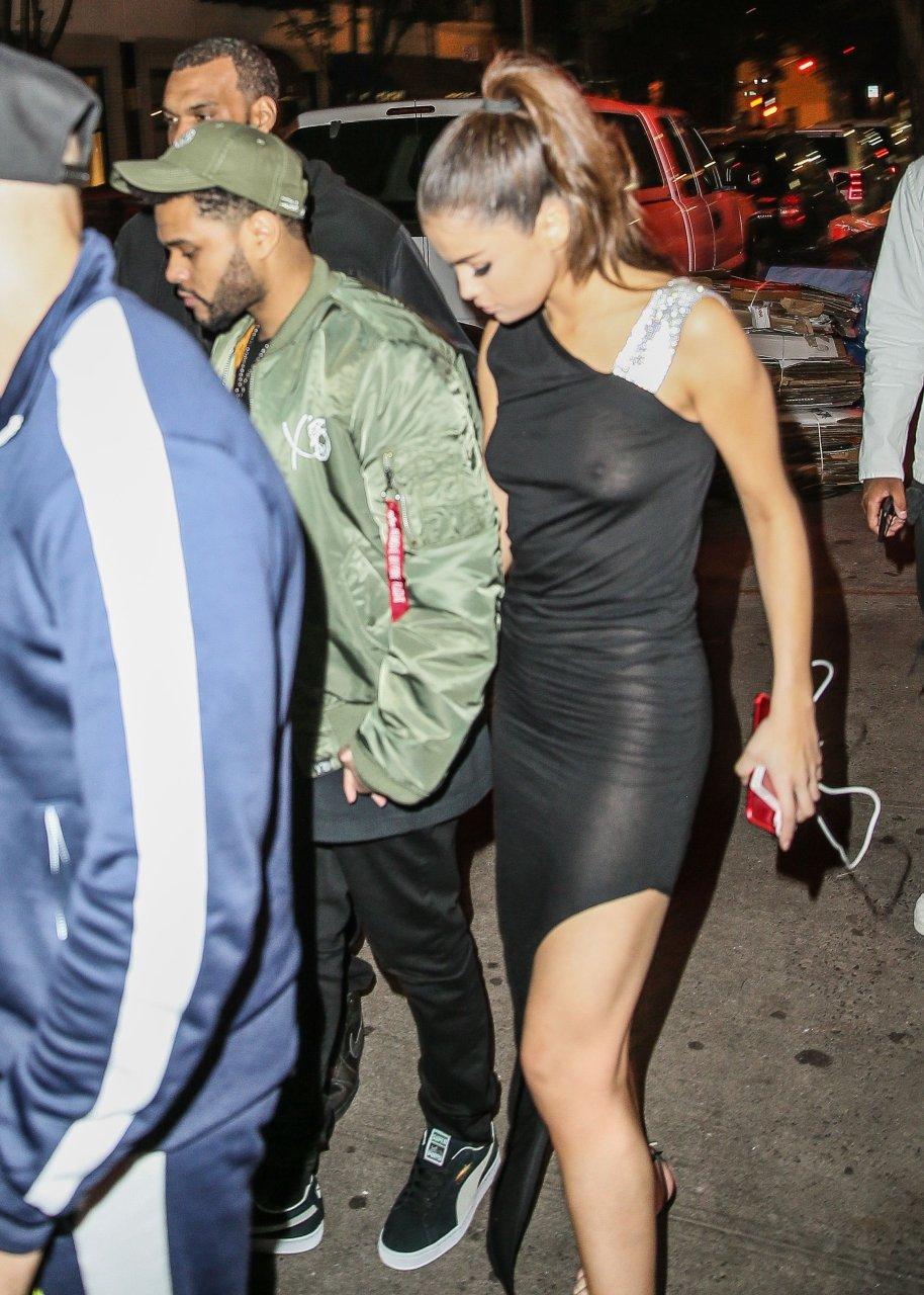 Selena gomez see-through