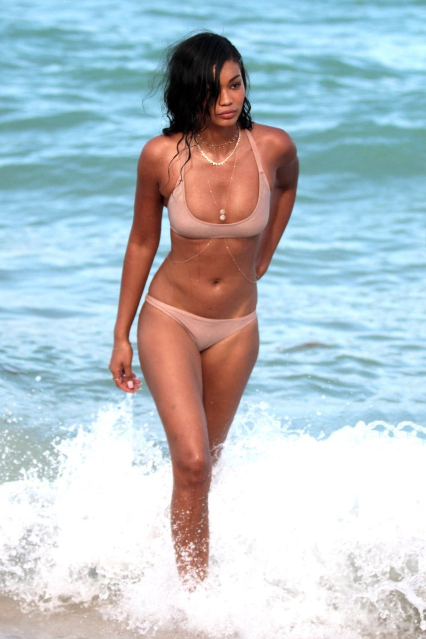 Watch Chanel Iman Nude Photos and Videos video