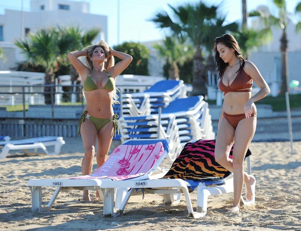 Chloe Goodman & Bianca Gascoigne Sexy (29 Photos)