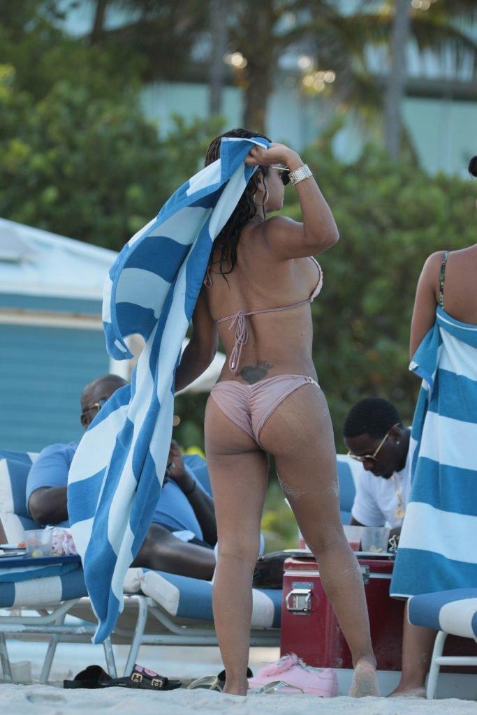 Christina Milian & Karrueche Tran Sexy (54 Photos + GIF & Video)