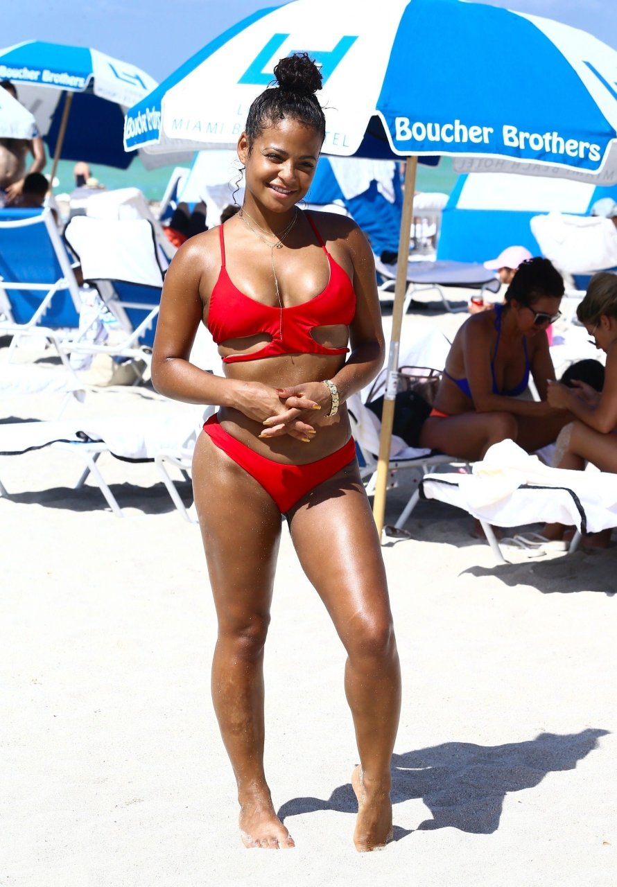 Christina milian looking hot as fuck on vacation 4