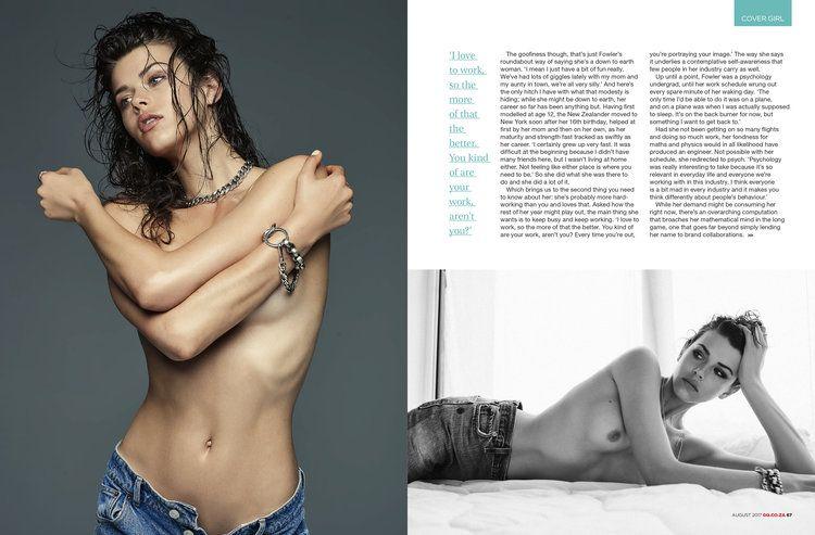 Georgia Fowler Sexy & Topless (7 Photos)