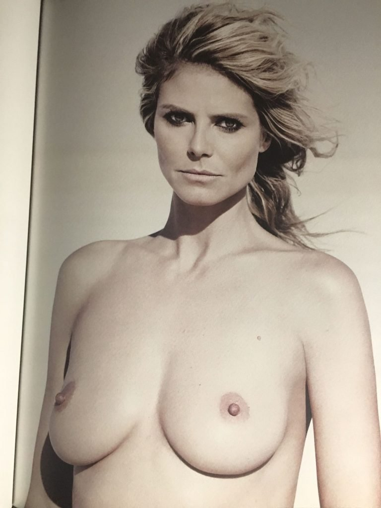 Nude pictures of heidi klum