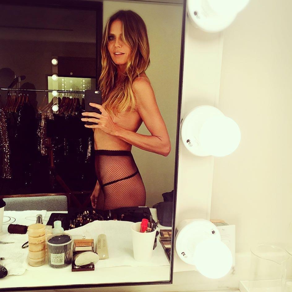 Heidi Klum Topless (1 Photo)