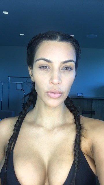 Kim Kardashian Sexy (35 Pics + Video)