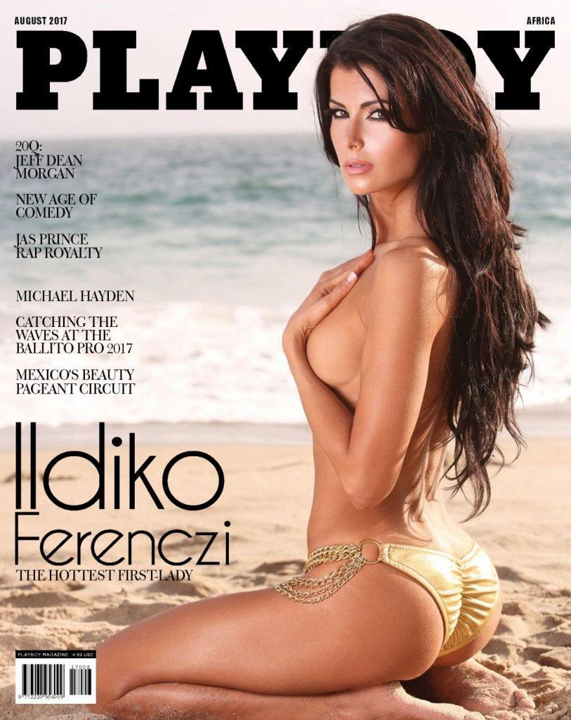 Ildiko Ferenczi Sexy & Topless (5 Photos)