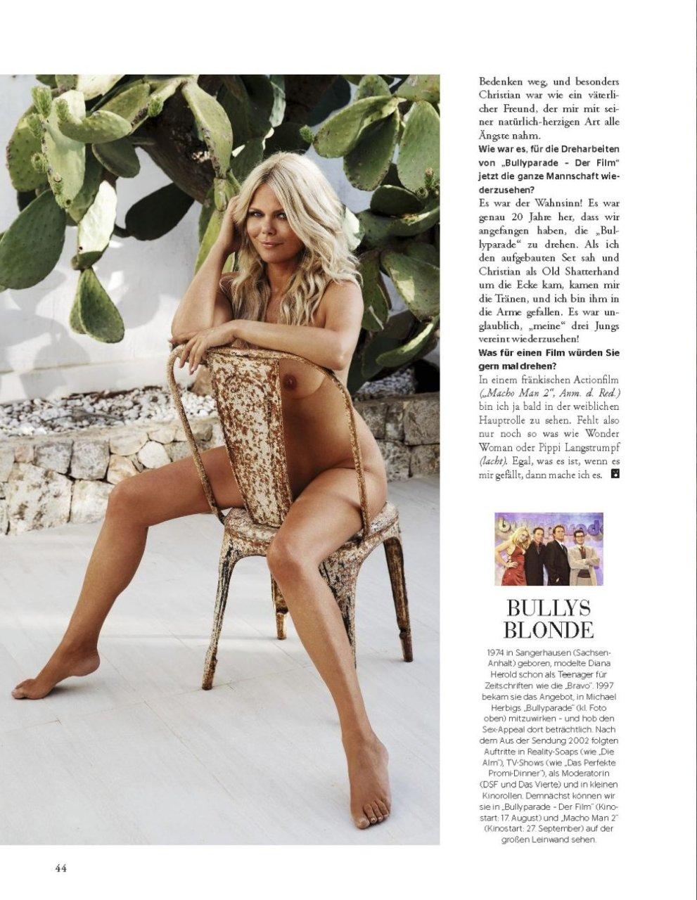 Sexy naked diana herold