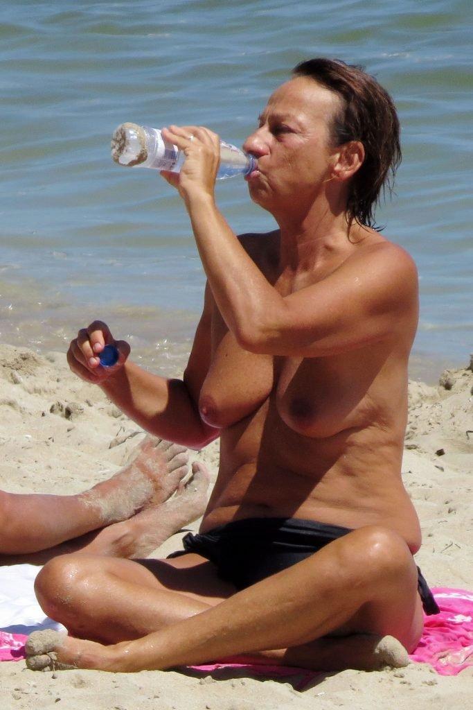 Gianna Nannini Topless (7 Photos)