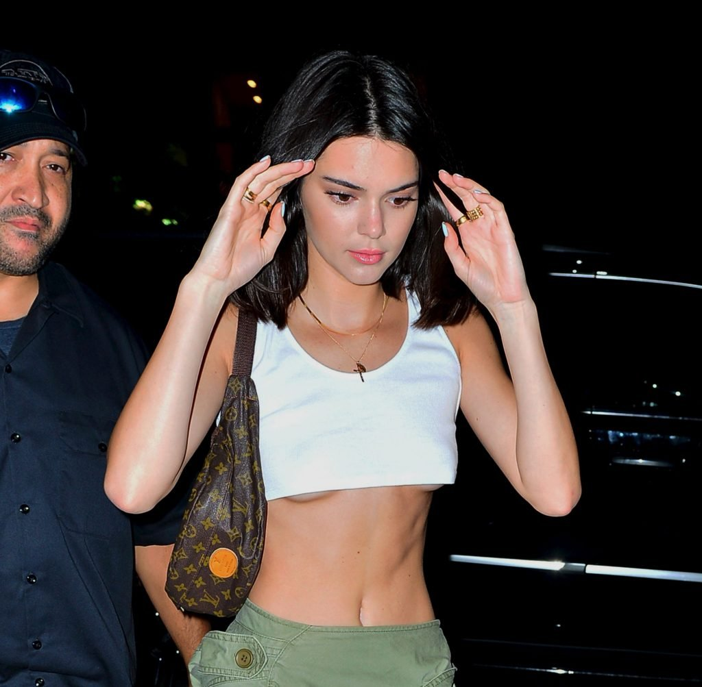 Kendall Jenner Braless (17 Photos + Video)