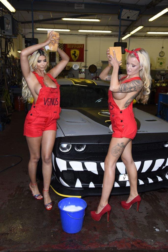 Micaela Schäfer & Roxxy X Topless (16 Photos) | #TheFappening