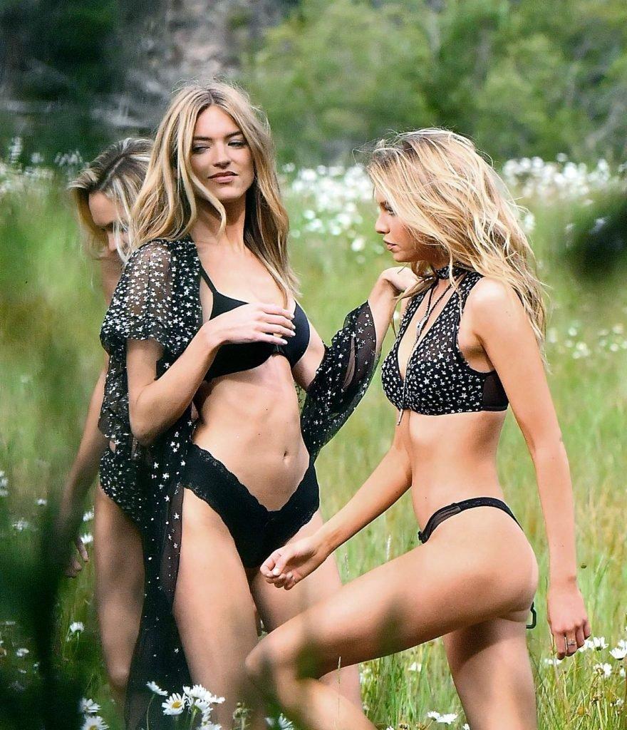 Stella Maxwell, Candice Swanepoel & Martha Hunt Sexy (17 Photos)