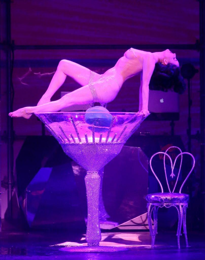 Dita Von Teese Sexy & Topless (12 Photos + Video)