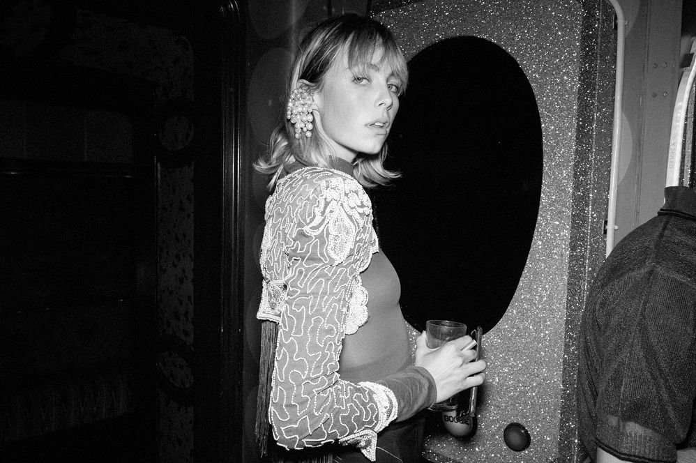 Edie Campbell See Through (13 Photos)