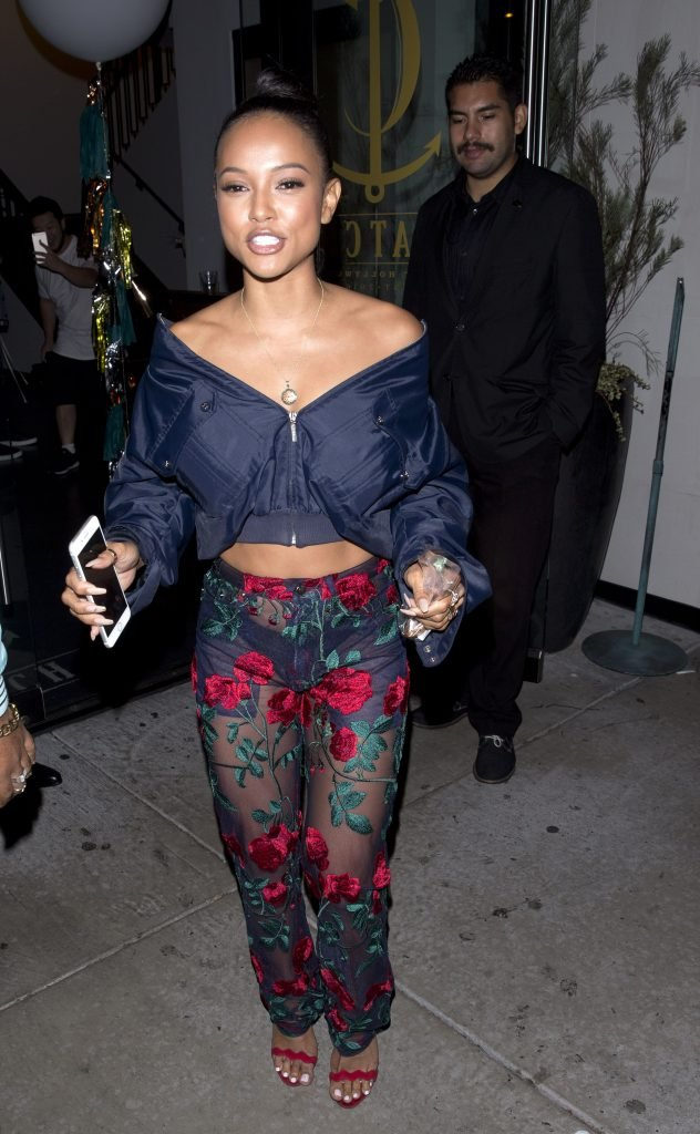 Karrueche Tran See Through 37 Photos Thefappening