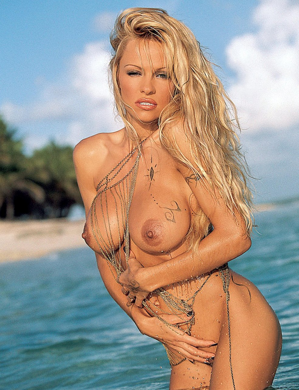 Sorry, that Pamella anderson boobs consider