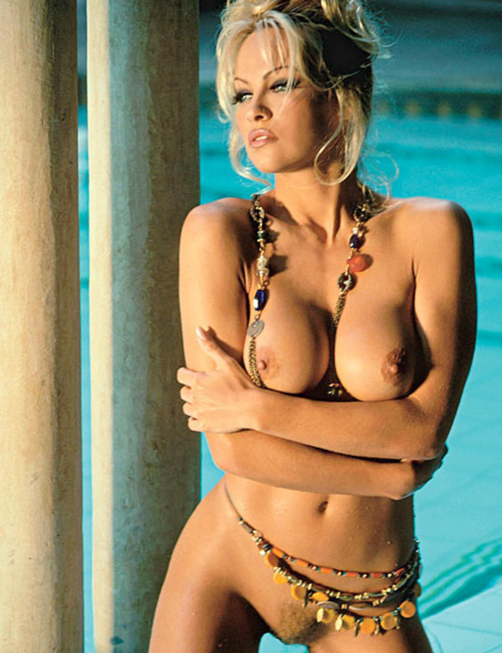 pam anderson in the nude