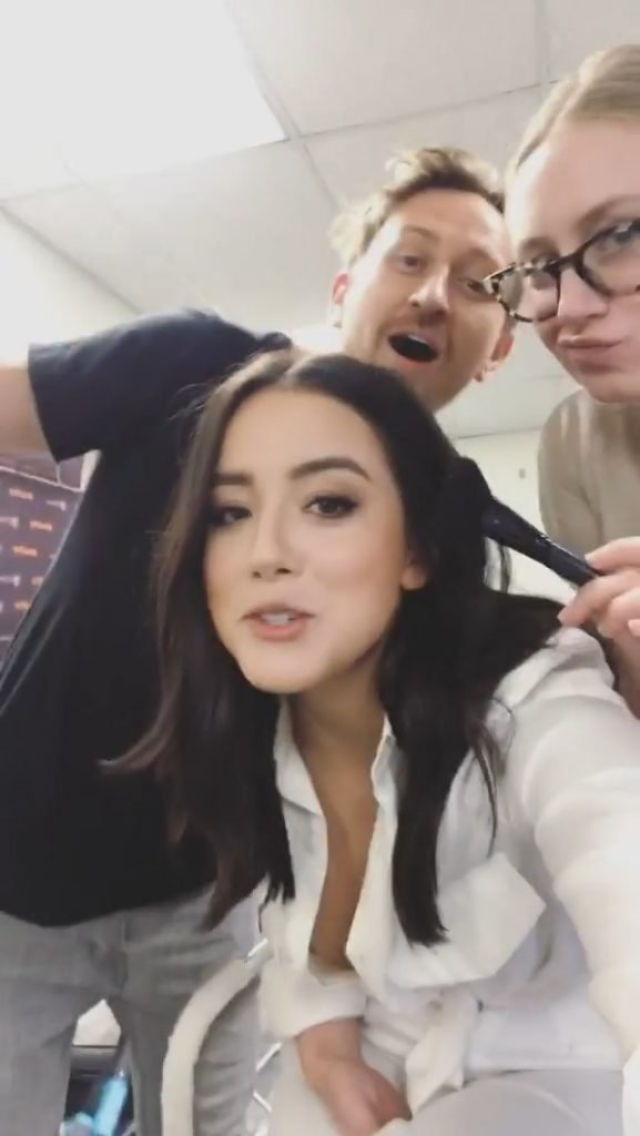 Chloe Bennet Nip Slip (3 New Pics + Video)