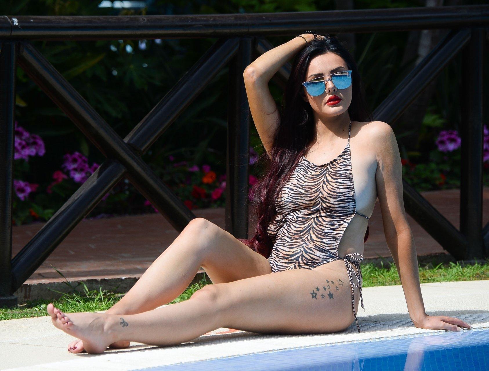 Pink bikini,Poppy delevingne see through Erotic videos Korina kova boobs,Richard kern