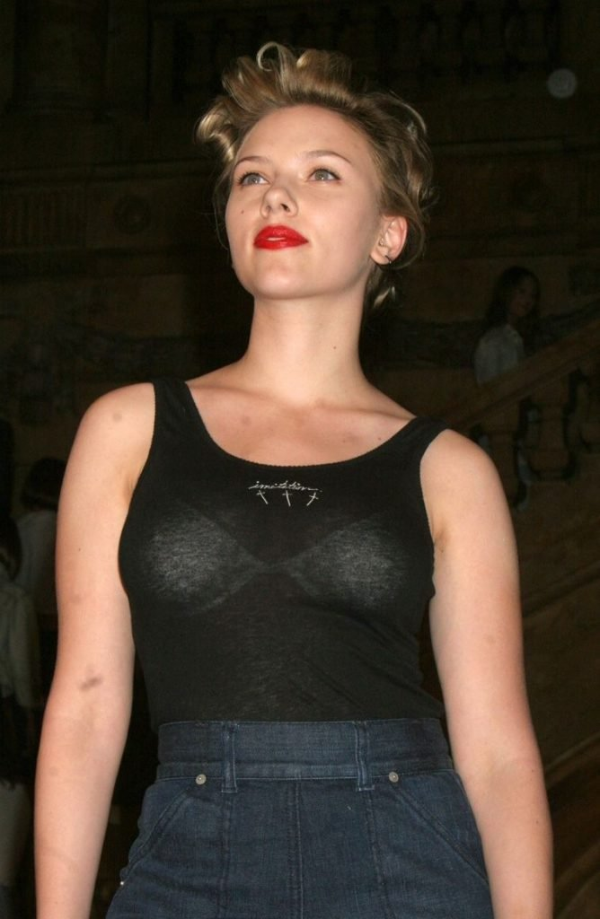 What excellent scarlett johanssons nude boobs understand you