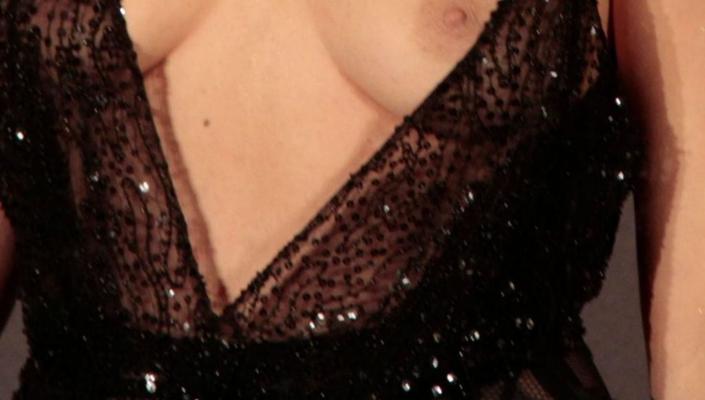 Adriana Abenia Nip Slip (42 Photos)