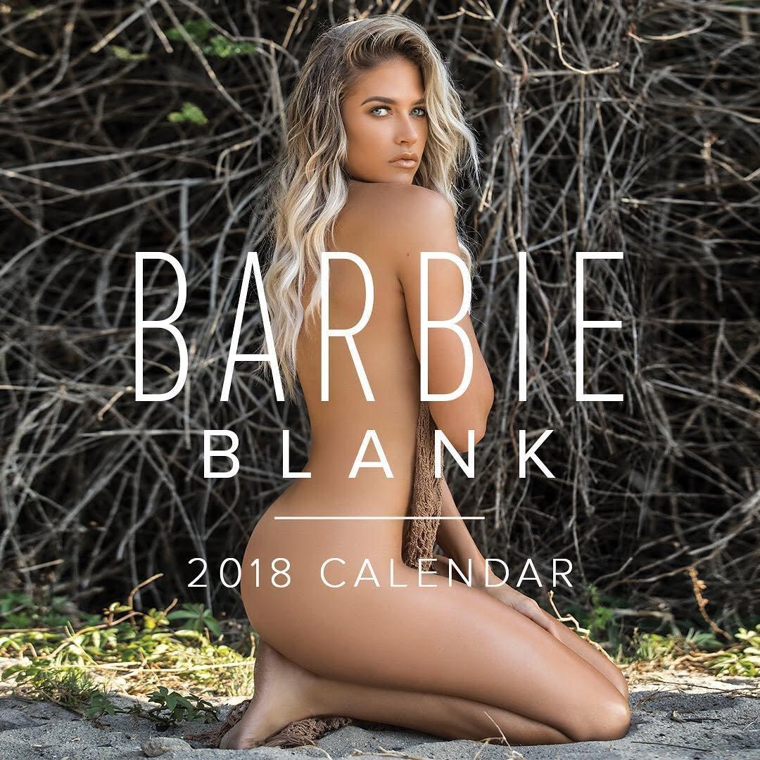 Barbie blank nude